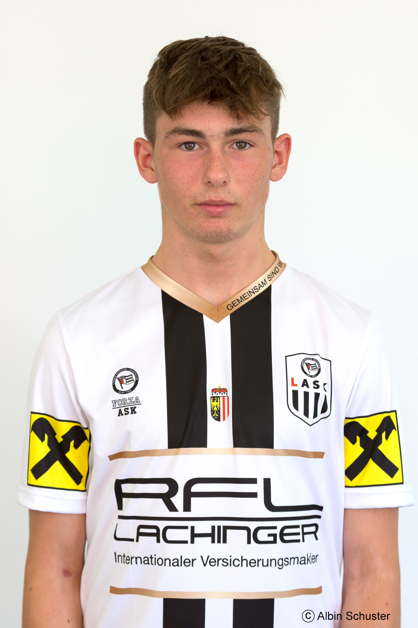 1. Einsatz in der Regionalliga Mitte für Aigner Florian