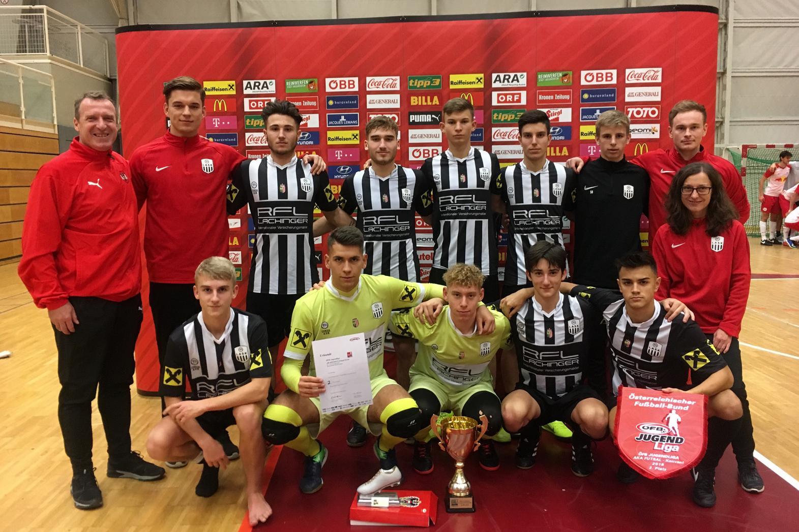 Toller Erfolg beim ÖFB U17 Futsal-Konvent