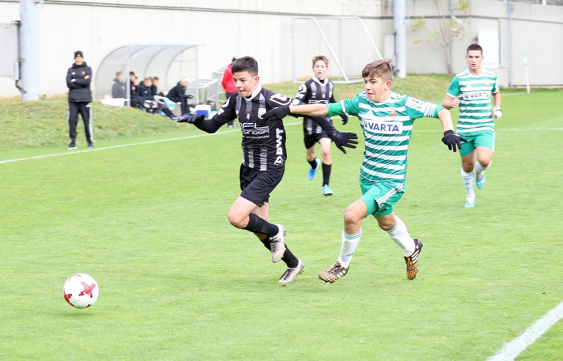 1 Punkt im Duell gegen die AKA Rapid Wien