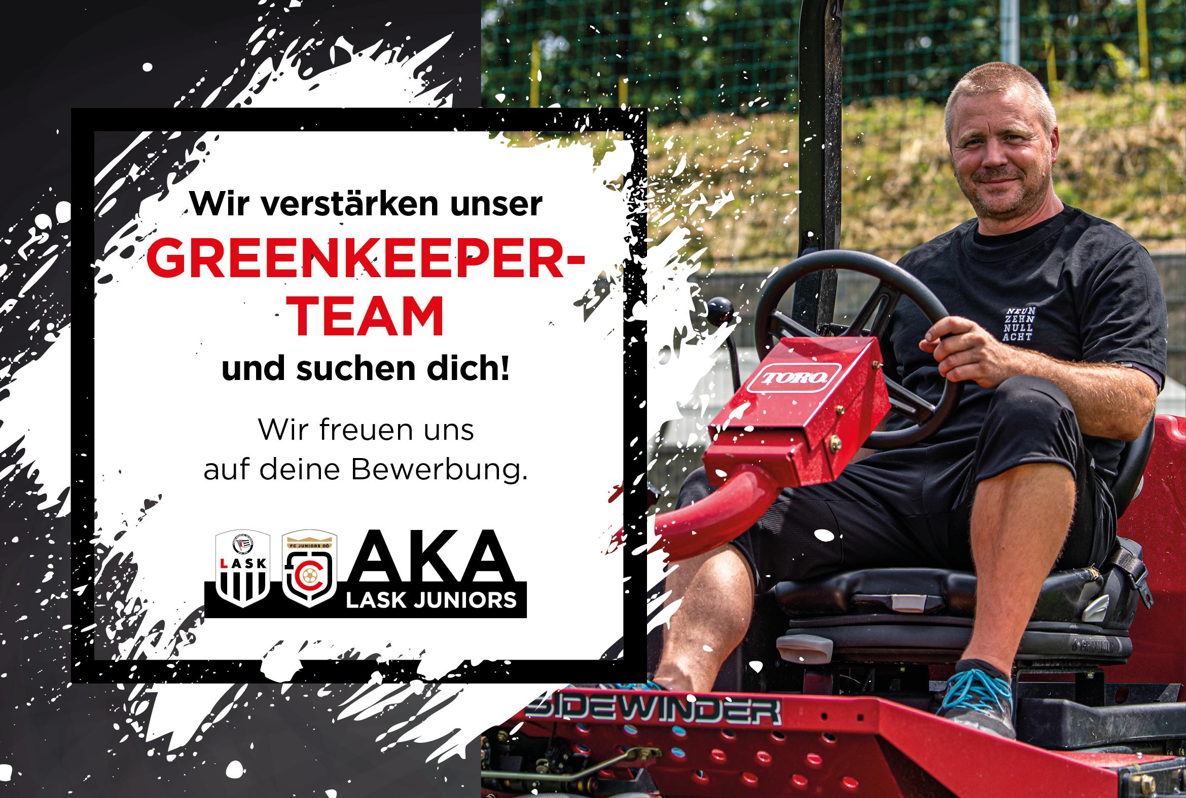 Greenkeeper gesucht!